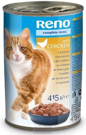 Reno Cat Kousky kuře 415 g (RENOKKD)