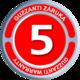 Záruka na 5 let - Guzzanti
