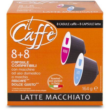 Kapsle Il Caffe CORSINI LATTE MACCHIATO 8+8 ks