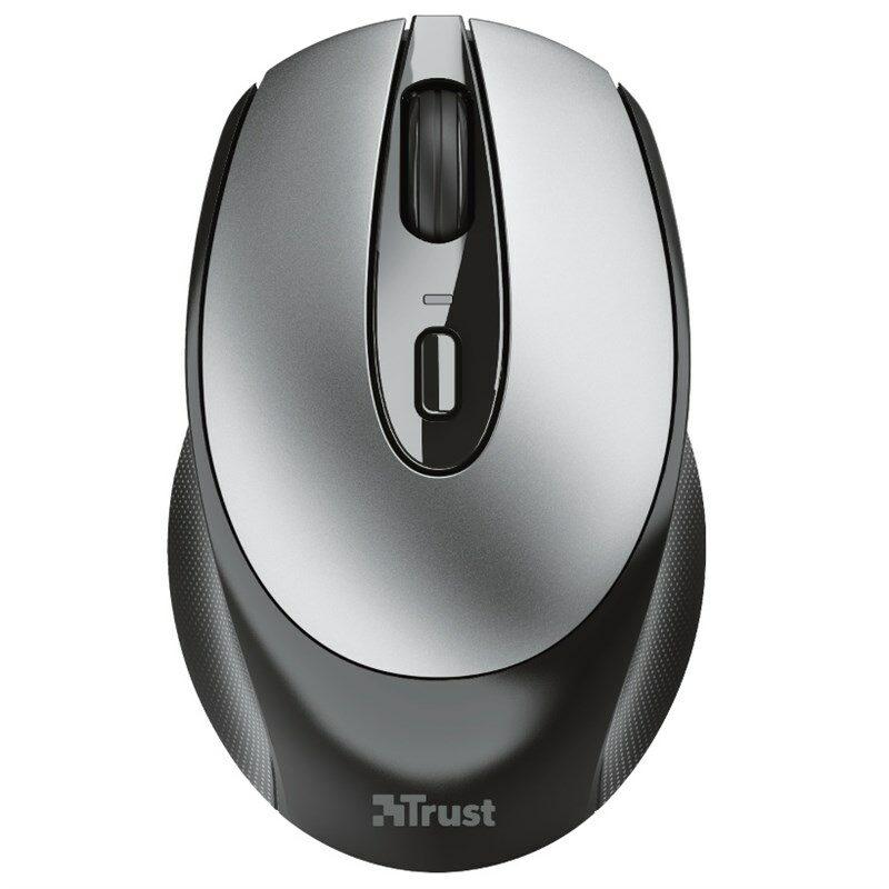 Myš Trust Zaya Rechargeable / optická/ 4 tlačítka/ 1600DPI - černá