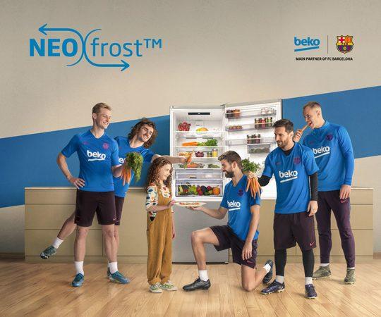 NeoFrost™ - dvojité chlazení bez námrazy od Beko
