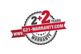 Záruka na 2 + 2 roky - G21