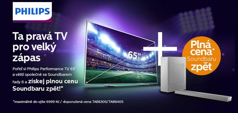Ta pravá TV pro velký zápas