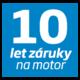 Beko - záruka 10 LET na motor